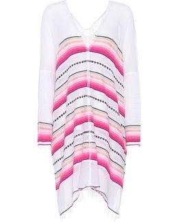 Striped Cotton Kaftan