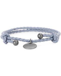 Intrecciato Leather Bracelet