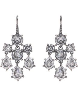 Cubic Zirconia-embellished Earrings