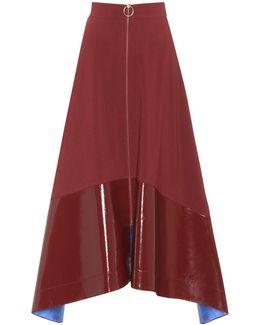 Oriana Wool-blend Skirt