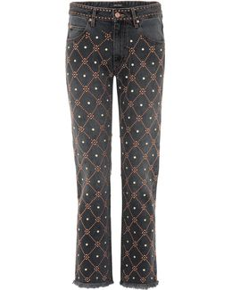 Newlan Embellished Jeans