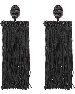 Fringed Clip-on Earrings