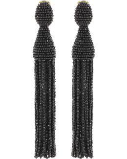 Tasselled Clip-on Earrings