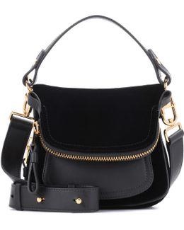 Small Jennifer Velvet Shoulder Bag