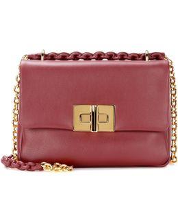 Natalia Medium Leather Shoulder Bag