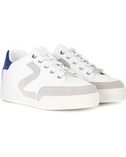 Stella Faux-leather Sneakers