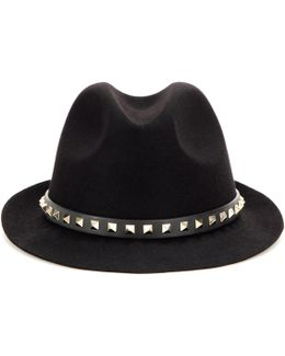 Rockstud Angora Hat