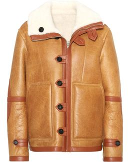 Reversible Leather And Shearling Coat