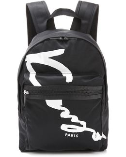 Signature Printed Backpack