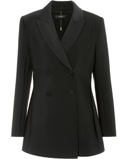 Affluent Double-breasted Jacket