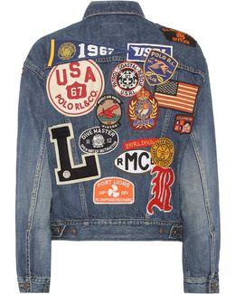 Patchwork Trucker Jacket