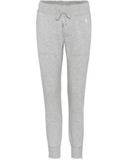 Cotton-blend Trackpants