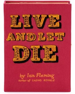 Live And Let Die Book Clutch