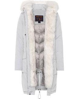 Military Fur-trimmed Parka