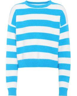 Striped Baseball Pullover