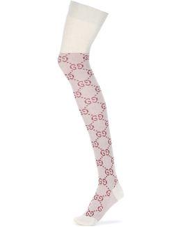 Gg Knee-high Socks
