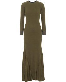Ribbed Cotton Dress