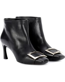 Trompette Extra Low Leather Ankle Boots
