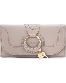 Hana Long Leather Wallet