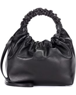 Double Circle Leather Tote