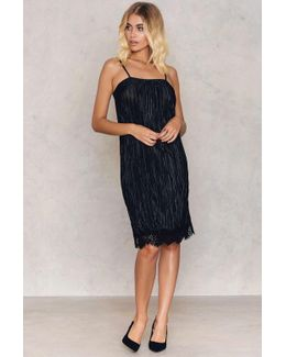 Harper Pleated Slip Dress