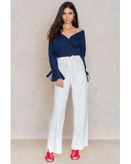 Split Side Trousers