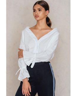 Flute Sleeve Shirt