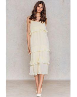 Frill Strap Dress