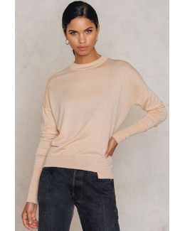 Asymmetric Drapey Pullover