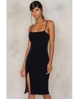 Christy Split Dress