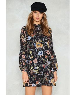 Only If For A Night Floral Dress Only If For A Night Floral Dress