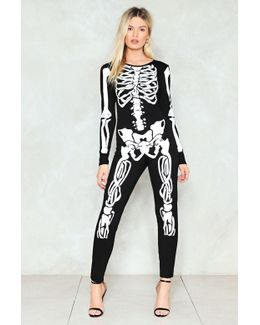 No-body's Fool Skeleton Jumpsuit No-body's Fool Skeleton Jumpsuit