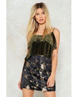 Go Jacquard Or Go Home Mini Skirt Go Jacquard Or Go Home Mini Skirt