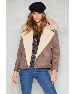 All Fur You Aviator Jacket All Fur You Aviator Jacket