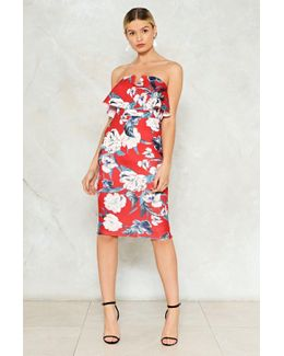 Let Me Give It A Bardot Floral Dress Let Me Give It A Bardot Floral Dress