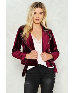 Get The Feel Of Things Velvet Jacket