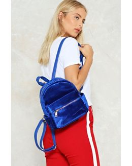 Want Put Your Hands On Velvet Backpack Want Put Your Hands On Velvet Backpack