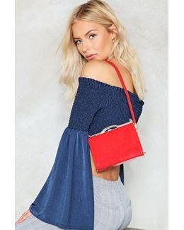 Structured Adjustable Strap Mini Bag Structured Adjustable Strap Mini Bag