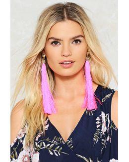 20cm Long Tassel Earrings 20cm Long Tassel Earrings