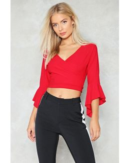 You Are Knot Alone Ruffle Crop Top You Are Knot Alone Ruffle Crop Top