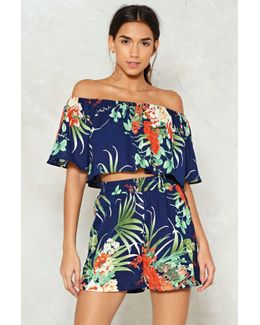 La Isla Bonita Top And Shorts Set La Isla Bonita Top And Shorts Set