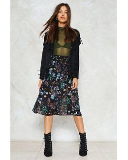 Double Split Maxi Skirt Double Split Maxi Skirt