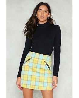 So Fancy Check Mini Skirt So Fancy Check Mini Skirt