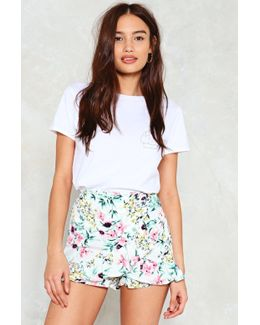 We'll Sing In The Sunshine Floral Shorts We'll Sing In The Sunshine Floral Shorts