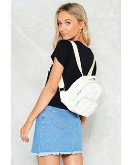 Want Velevet Mini Back Pack Want Velevet Mini Back Pack