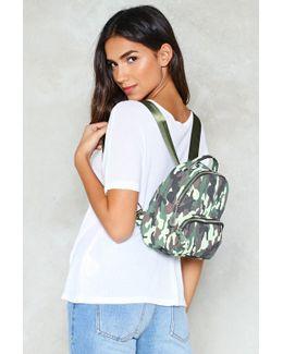 Want Army Of One Mini Backpack Want Army Of One Mini Backpack