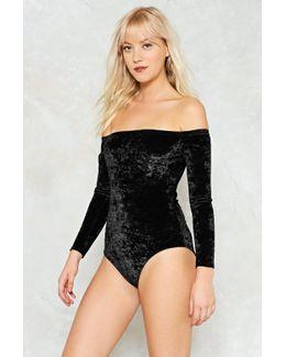 Crushin' On You Velvet Bodysuit Crushin' On You Velvet Bodysuit