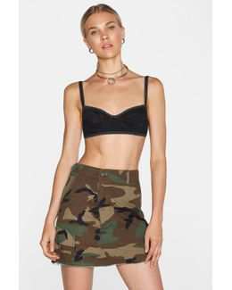 After Party Vintage In The Trenches Camo Skirt After Party Vintage In The Trenches Camo Skirt