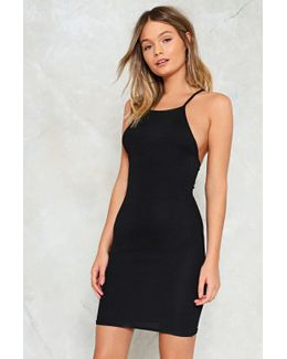 High Neck Bodycon Dress High Neck Bodycon Dress