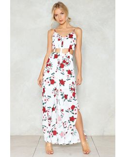 Bits And Pieces Floral Dress